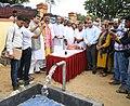 "Radha Mohan Singh inaugurating the Wastewater Treatment Plant, at the ""Deen Dayal Upadhyay Krishi Unnati Mela-2017, at Pandit Deen Dayal Dham, in Farah, Mathura, Uttar Pradesh (1).jpg"