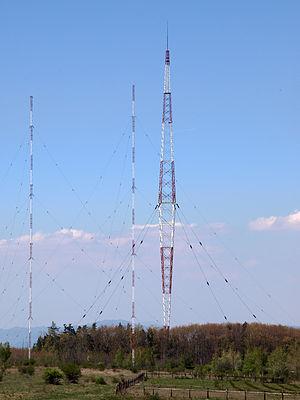 Blaw-Knox tower - Image: Radio transmitter antena at Vakarel