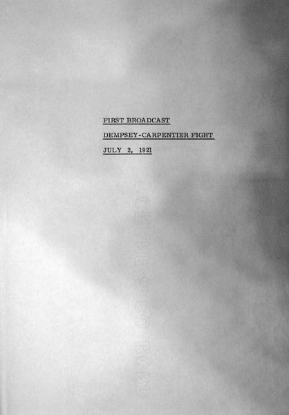 File:Radiophone Broadcast of Dempsey-Carpentier Fight on July 2, 1921.pdf