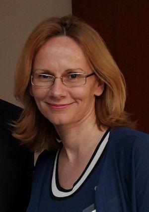 Radmila Šekerinska - Image: Radmila Sekerinska (cropped)