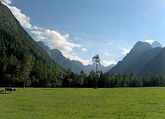 Radovna Valley - The Radovna Valley