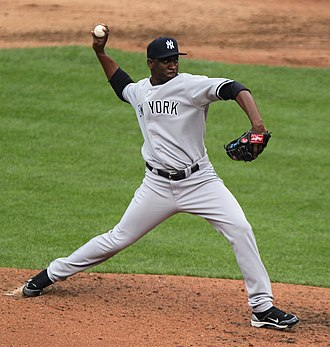 2011 New York Yankees season - Rafael Soriano pitching in a game on September 8, 2011