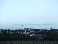 A view over the suburb from nearby Mungret