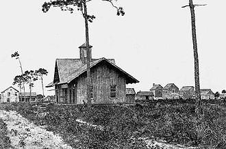 Titusville, Florida - Railroad depot c. 1905