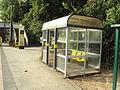 Rain shelter, Capenhurst railway station - DSC06403.JPG