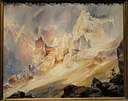 Rainbow over the Grand Canyon of the Yellowstone, 1900, by Thomas Moran - SAAM - DSC00847.JPG
