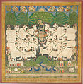 Rajasthan, India - Festival of the Cattle (Gopashtami); shrine hanging (pichhavai) - Google Art Project.jpg