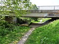 Raleigh Meadow bridge on the River Yeo as seen from upstream - geograph.org.uk - 1858527.jpg