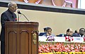 Ram Nath Kovind addressing at the inauguration of the Constitution Day celebrations, organised by the Supreme Court to mark the anniversary of the adoption of our Constitution on November 26, 1949, in New Delhi.jpg