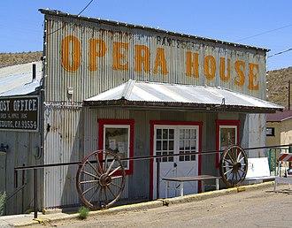 Randsburg, California - Randsburg Opera House