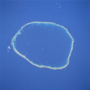 Raraka - NASA picture of Raraka Atoll