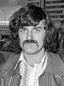 Ray Thomas British musician, songwriter, singer, flautist for Moody Blues""