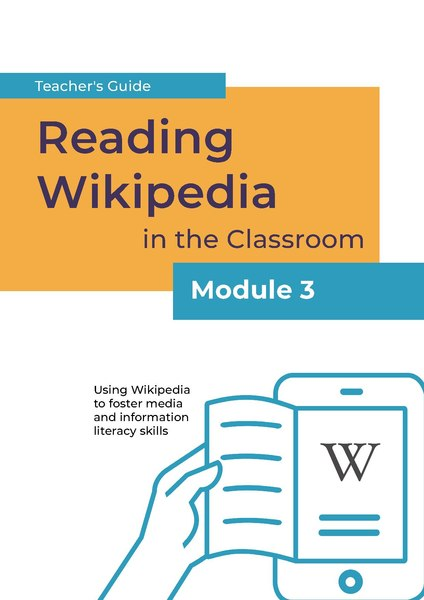 File:Reading Wikipedia in the Classroom - Teacher's Guide Module 3 (English).pdf