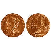 Congressional Gold Medal awarded to Ronald and Nancy Reagan