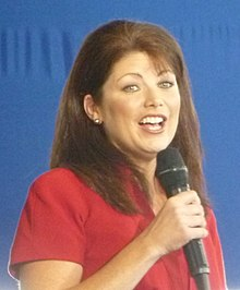 Rebecca Kleefisch at Romney rally (cropped).JPG
