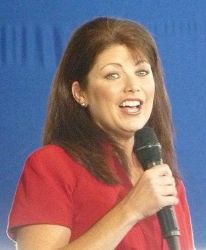 Rebecca Kleefisch - Image: Rebecca Kleefisch at Romney rally (cropped)