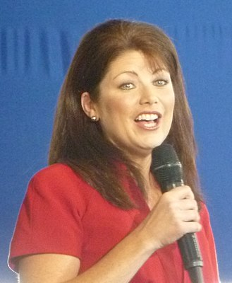 Lieutenant Governor of Wisconsin - Image: Rebecca Kleefisch at Romney rally (cropped)