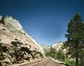 Red Road through Zion National Park, Utah LCCN2011630966.tif
