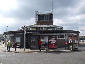 Redbridge tube station - Image: Redbridge station entrance north