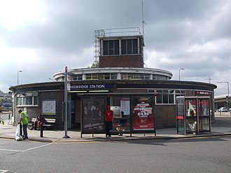 Redbridge tube station - Image: Redbridge station entrance north