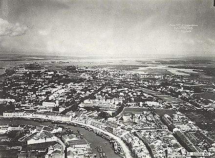 Toàn cảnh Hải Phòng năm 1931