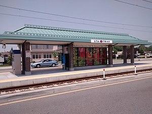 Redwood Junction (UTA station) - Image: Redwood Junction Station