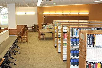 Fullerton Public Library - Image: Reference area