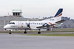 Regional Express Airlines (VH-ZRN) Saab 340B taxiing at Wagga Wagga Airport.jpg