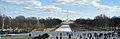 Rehabilitation works Reflecting Pool 12 2011 DC 000101.JPG
