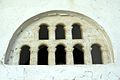 Relief of boats, window of a church, Naxos town, 091384.jpg