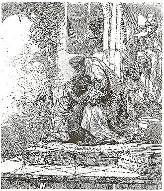 The Return of the Prodigal Son (Rembrandt) - Image: Rembrandt Syn marnotrawny