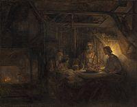 Rembrandt van Rijn - Philemon and Baucis (National Gallery of Art).jpg