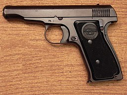 Remington Model 51 Die Autorenschaft wurde nicht in einer maschinell lesbaren Form angegeben. Es wird Nemo5576 als Autor angenommen (basierend auf den Rechteinhaber-Angaben). [Public domain], via Wikimedia Commons