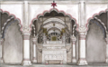 Reminiscences of Imperial Delhi The imperial jharoka in the Diwan-i 'Am.png