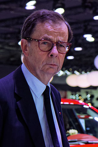 Louis Schweitzer (businessman) - Mondial de l'Automobile de Paris, 2012