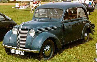 Renault Juvaquatre - Renault Juvaquatre (1939)