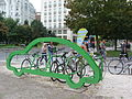 Rent a bike - Deák tér, Budapest.JPG