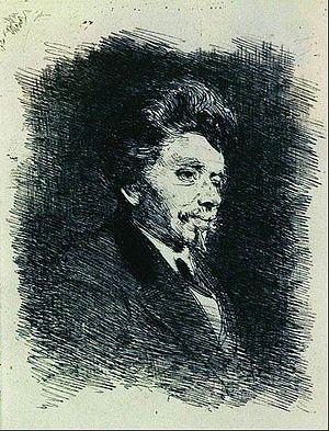 Pantaleon Szyndler - Pantaleon Szyndler; by Ilya Repin (date unknown)