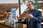 Representative Keith Ellison speaking in support of DACA at Hennepin County Government Center Minneapolis, MN (27786541179).jpg