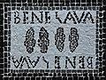 Reproduction de la mosaïque Bene lava de Timgad, Algérie (par Reda Kerbouche).jpg