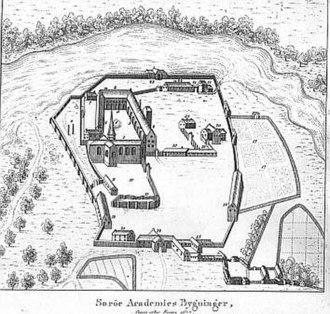 Sorø Academy - Sorø Academy, Rosens Atlas, 177