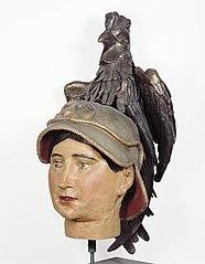 Head of the giantess, Pallas Athena