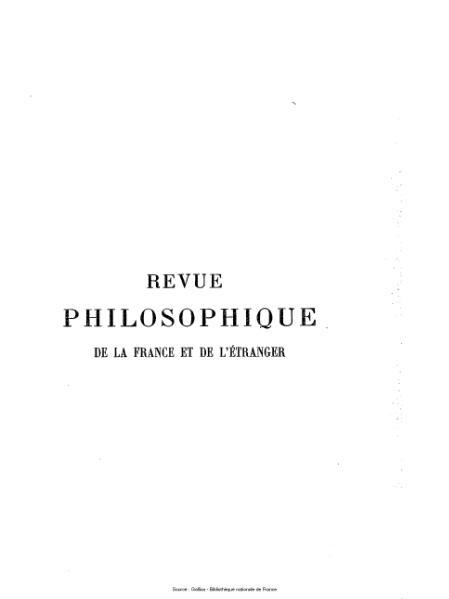 File:Ribot - Revue philosophique de la France et de l'étranger, tome 69.djvu