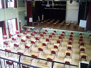 Richard Huish College Exam Hall