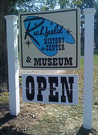 RichfieldhHistoryCenter sign.JPG