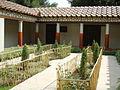 Ricostruzione del giardino della casa dei pittori al lavoro di pompei (mostra al giardino di boboli, 2007) 01.JPG
