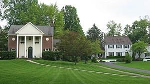 Greencastle Township, Putnam County, Indiana - The Northwood Historic District in Greencastle