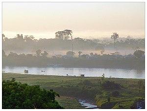 Juruá River - Image: Rio Jurua, Cruzeiro do Sul, Acre