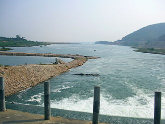Penna River - River Penna in Eastern Ghats