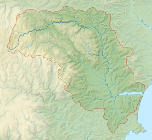 River Teign - Image: River Teign map